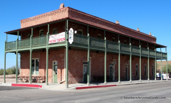 Restored historical Silver King Hotel