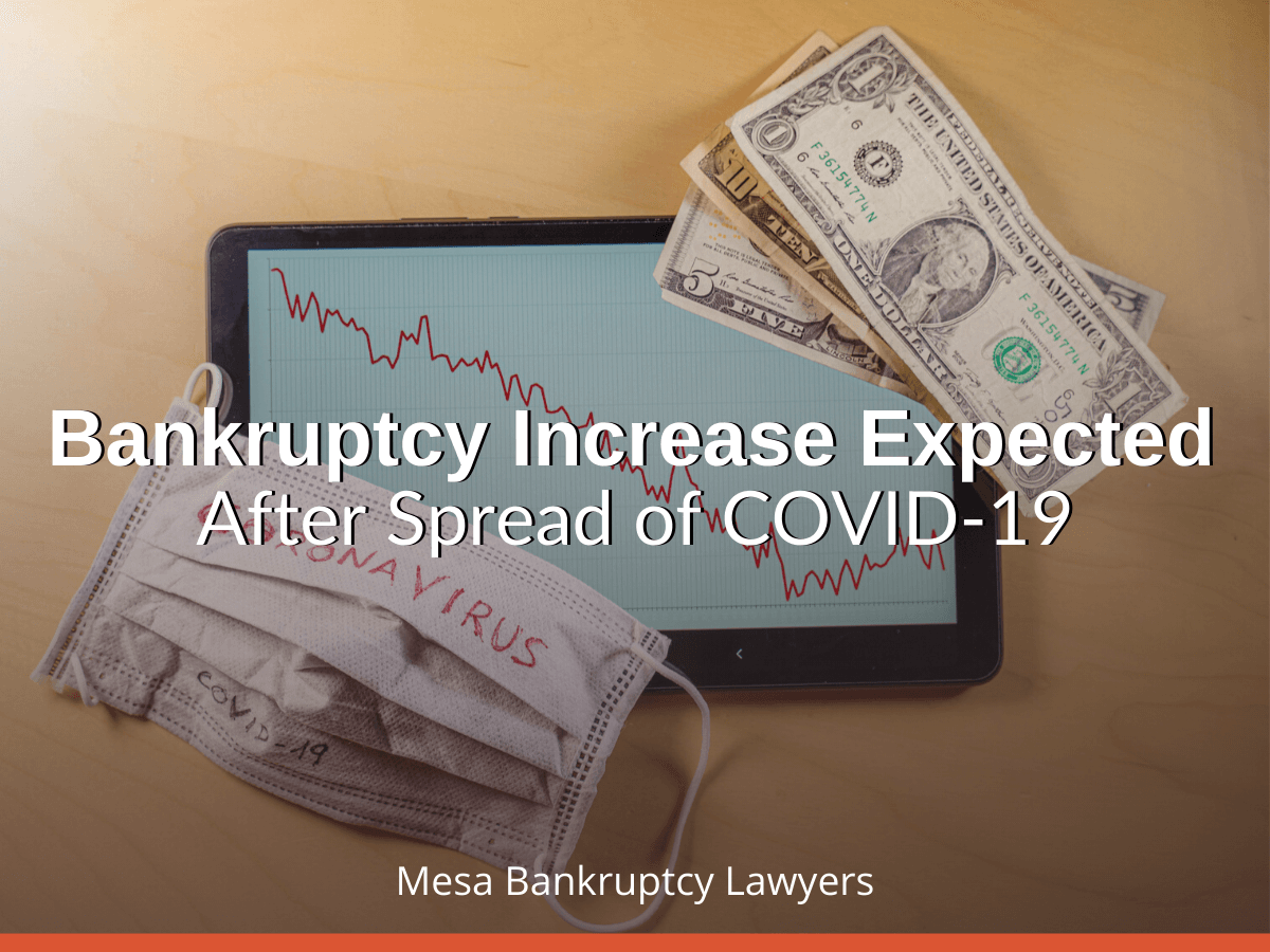 Bankruptcy Increase Expected After Spread of COVID-19
